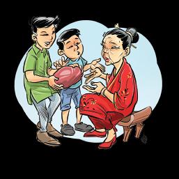 Angpau Nenek Oi-Yong